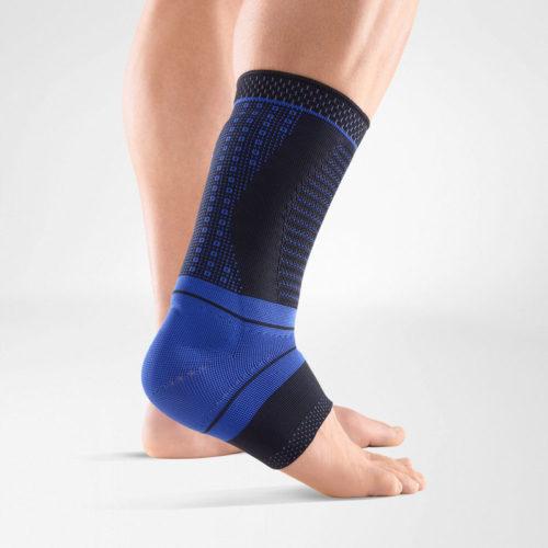 Hälseneinflammation, avlastar fotleden och påskyndar läkning